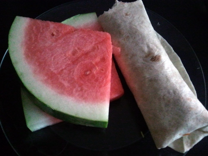 Tacos and Watermelon