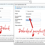 Adjust file upload size in contact form 7